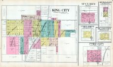 King City, McCurry, Mt. Pleasant, Union Grove, Island City, Ford City, Gentry County 1914