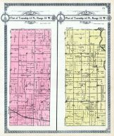 Township 63 N., Range 33 W, Township 64 No., Range 33 W. - Part, Gentry County 1914