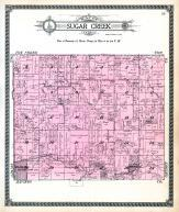 Sugar Creek Township, Gilman, Melbourne, Harrison County 1917
