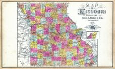State Map, Knox County 1898