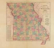 Historic Map Works Residential Genealogy - Map of us 1861