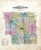 County Outline Map, Nodaway County 1893