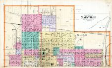 Maryville - North, Nodaway County 1893