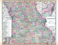 State Map, Nodaway County 1893