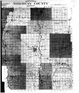 Nodaway County Outline Map - Right, Nodaway County 1911