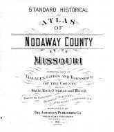 Title Page, Nodaway County 1911