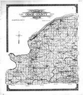 Osage County Outline Map, Osage County 1913 Microfilm