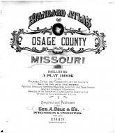 Title Page, Osage County 1913 Microfilm