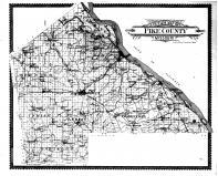 Pike County Outline Map, Pike County 1899