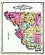 County Outline Map, Platte County 1907