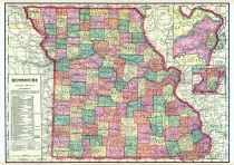 State Map, Platte County 1907