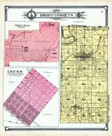 Township 54 and 55 N. Range 33 W. - Part, Edgerton, Ridgely, Tiffany Springs, Latan, Platte County 1907