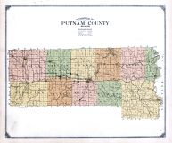 Putnam County Topographical Map, Putnam County 1916