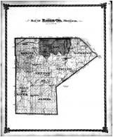 Ralls County Map, Ralls County 1878