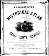 Title Page, Ralls County 1878