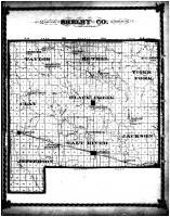Shelby County Map, Shelby County 1878