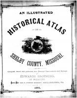 Title Page, Shelby County 1878
