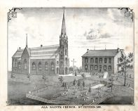 All Saints Church - St Peters, St. Charles County 1875