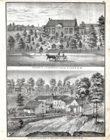 H.E. Machens - Residence, Theo. Runge - Residence and Brewery, St. Charles County 1875