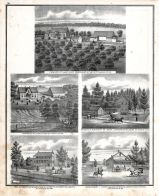 Henry Gronfeld - Farm, W.C. Lickett - Farm, Dr. Joseph Leitensdorfer - Res., Christ. Deckenbrock - Res., X. Ashoff - Res., St. Charles County 1875