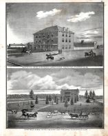 Wentzville Hotel and Restaurant - George Dierker Prop., Samuel Keithly - Farm, St. Charles County 1875