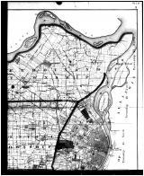 St. Louis City and County Outline Plan Map - Above Right