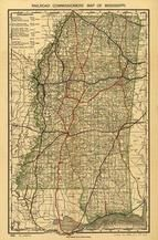 Mississippi Antique Maps And Historical Atlases Historic Map Works - Missisippi map