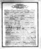 Barnes County Outline Map, Barnes County 1910