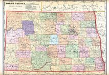 State Map, Barnes County 1910