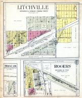 Litchville, Rogers, Thomas' Add., Barnes County 1928