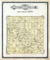 West Antelope Township, Benson County 1910