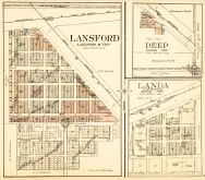 Lansford, Deep, Landa, Bottineau County 1929