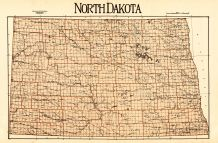 State Map, Bottineau County 1929