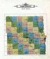 County Map, Cass County 1906