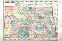 State Map, Cass County 1906