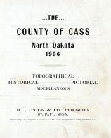 Title Page, Cass County 1906
