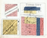 Tower City, Durbin, Village of Ayr, Cass County 1906
