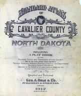 Title Page, Cavalier County 1912