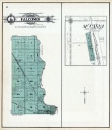 Falconer Township, Grand Forks, Schurmeier Station, McCanna, Grand Forks County 1909