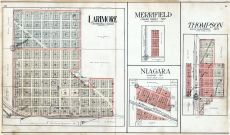 Larimore, Meffifield, Thompson, Niagara, Grand Forks County 1909