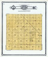 Levant Township, Grand Forks County 1909