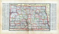 State Map, Hettinger County 1917