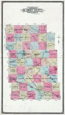 County Outline Map, McHenry County 1910