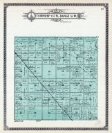 Township 157 N., Range 76 W., Milroy, Great Northern R.R., Mouse River, McHenry County 1910