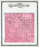 Township 158 N., Range 76 W., Mouse River, McHenry County 1910