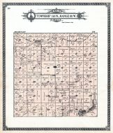 Township 140 N., Range 80 W., Strawberry Lake, Camp Lake, Ruso, McLean County 1914