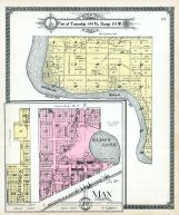 Township 144 N., Range 84 W., Max, Elbow Lake, McLean County 1914