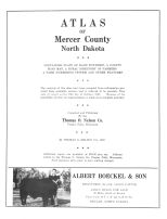 Title Page, Mercer County 1963