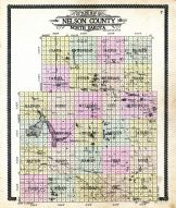 Outline Map, Nelson County 1909