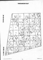 Sargent County Map Image 012, Ransom and Sargent Counties 1992
